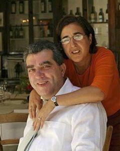 Gianni Brunelli con la moglie Laura