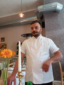 Chef Salvatore Piccolo di Locanda Mariacarolì