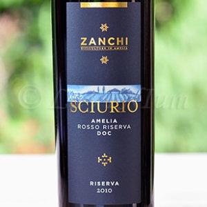 Amelia Rosso Riserva Sciurio 2010 Zanchi