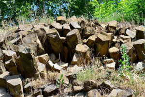 Basalto colonnare a Gambellara
