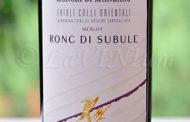 Friuli Colli Orientali Merlot Ronc di Subule 2013