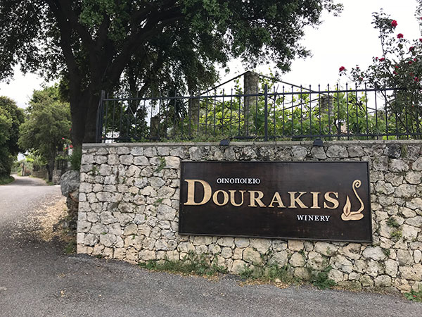 Ingresso Dourakis Winery