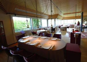 Sala del ristorante La Peca