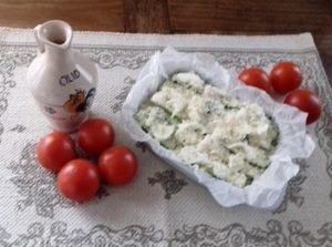 pomodoro e mozzarella per la parmigiana