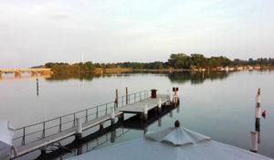 Il panorama dal Tarabusino