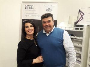 Angelica Montagna con Tiziano Castagnedi