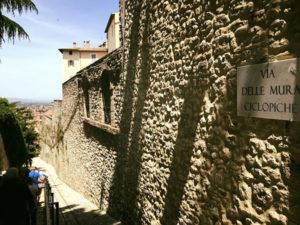 Antiche mura ciclopiche