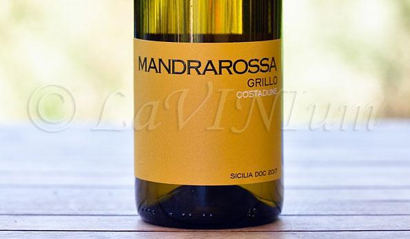 Sicilia Grillo Costadune 2017 Mandrarossa