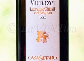 Lacryma Christi del Vesuvio Bianco Munazei 2013