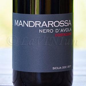 Sicilia Nero d'Avola Costadune 2017 Mandrarossa