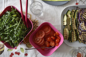ingredienti per il ripieno della piadina romagnola