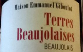 VINerdì IGP, il vino della settimana: Terres Beaujolaises 2016 Emmanuel Giboulot