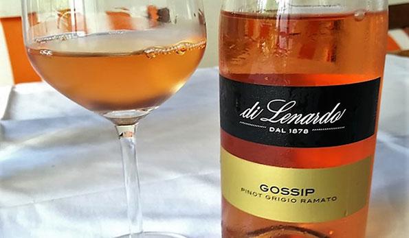 VINerdì Igp, il vino della settimana: Friuli Doc Pinot Grigio Ramato Gossip 2017 - Di Lenardo