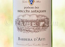 Barbera d'Asti Poderi dei Bricchi Astigiani 2016