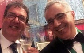 Cinque grandi Champagne per la cena dell'Ordre des Coteaux de Champagne