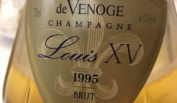 Champagne Louis XV 1995 de Venoge