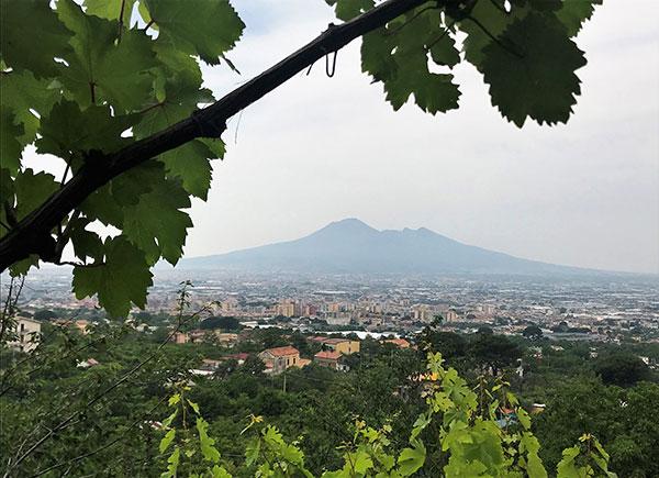 Il Vesuvio visto da Corbara