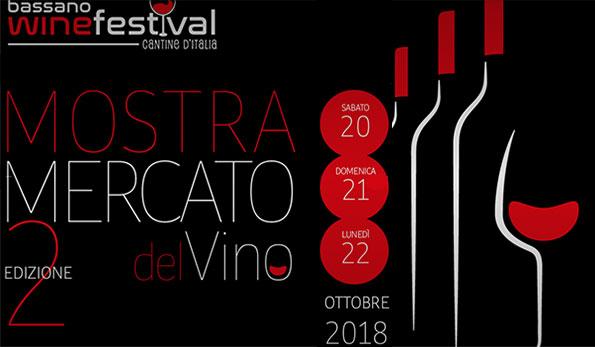 Da sabato 20 a lunedì 22 ottobre 2018 tutti al Bassano Wine Festival!