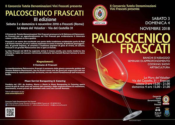 Locandina Palcoscenico Frascati