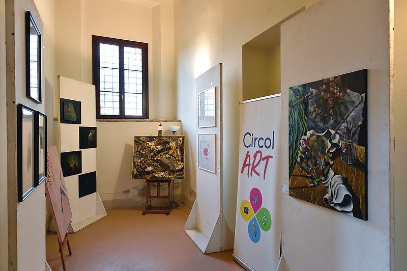 Mostra collettiva delle opere degli artisti dell'associazione Circol Art
