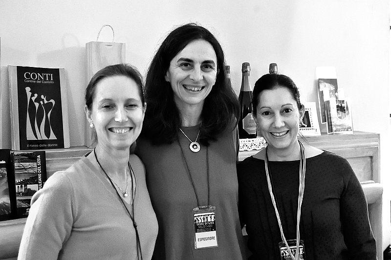 Federica Colla, Elena Conti e Ilaria Salvetti