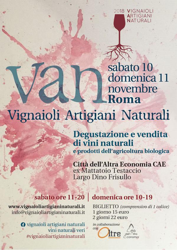 locandina VAN 2018 Roma