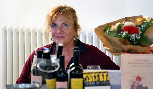 Malvasia delle Lipari Passito 2009 e l'eroico, ostinato amore di Paola Lantieri
