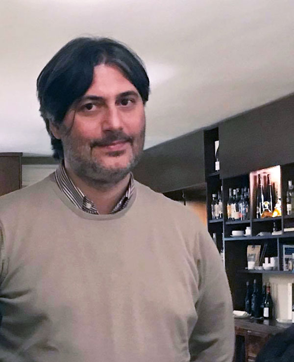 Carlo Capuano, proprietario del Sartù