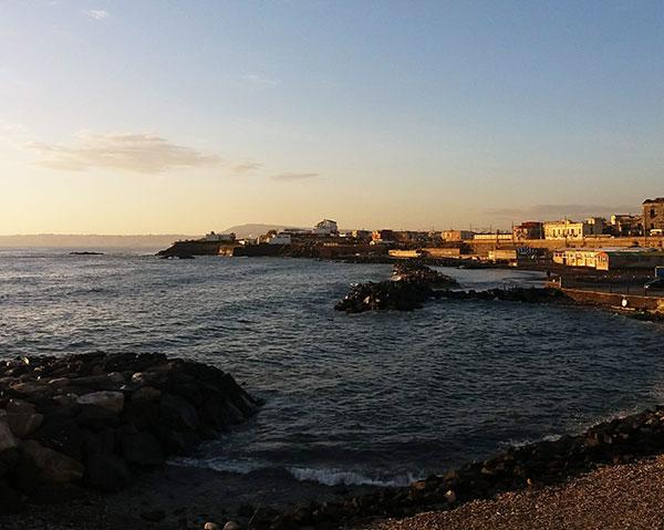Il panorama dal San Pietro Bistrot del mare