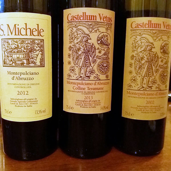 I vini di Centorame