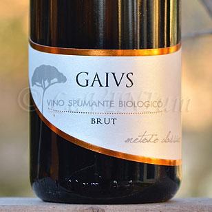 GAIVS Brut Metodo Classico 2015