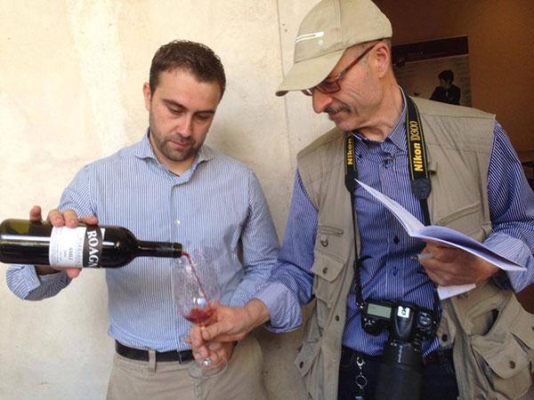 con Luca Roagna