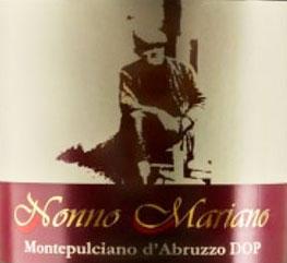 Montepulciano d'Abruzzo Terre dei Peligni Nonno Mariano