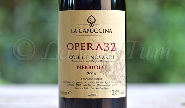 Colline Novaresi Nebbiolo Opera 32 2016 La Capuccina