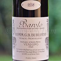 Barolo Vigneto Monvigliero 2008 Burlotto