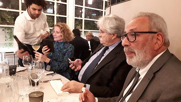 In primo piano il presidente Tonino Verna