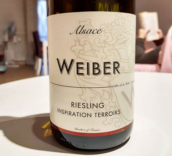 Alsace Riesling Weiber
