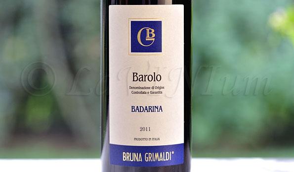 Barolo Badarina 2011 Bruna Grimaldi