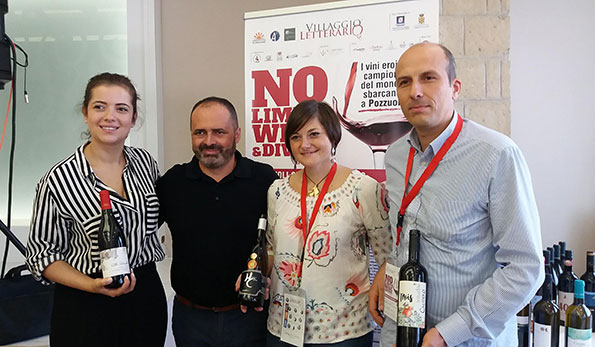 Cristina Varchetta, Manuel Capote, Fosca Tortorelli e Fulvio Cautiero