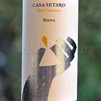 Lacryma Christi del Vesuvio Rosso Don Vincenzo Riserva 2014 Casa Setaro