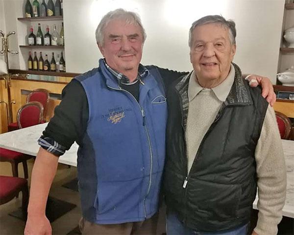Gioachino Palestro con Renato Pozzetto