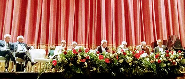 I relatori convegno AIS