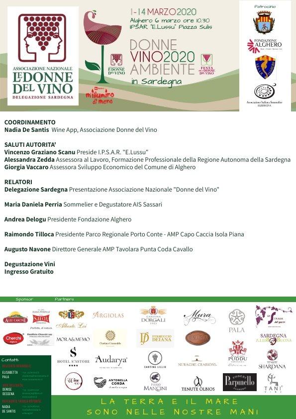 DonneVino 2020 Alghero