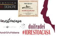 #IORESTOACASA, tre etichette dell'Alto Piemonte per combattere il Covid-19