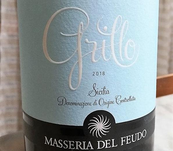 Sicilia Grillo 2018 Masseria del Feudo