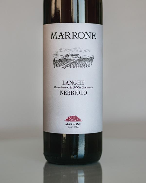 Langhe Nebbiolo 2018 Marrone