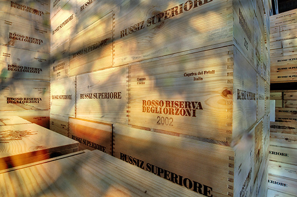 Cassette vino Russiz Superiore
