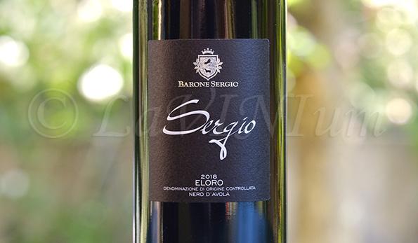 Eloro Nero d'Avola Sergio 2018 Barone Sergio