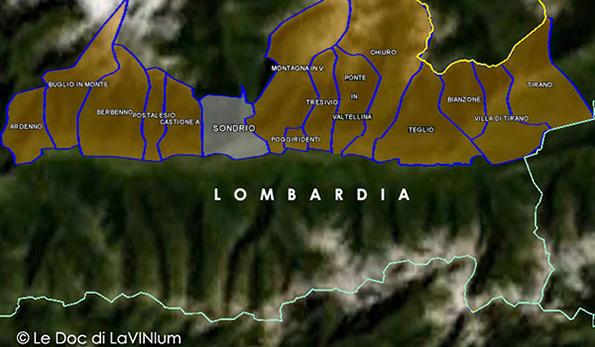 Cartina Economica Lombardia.Le Docg Della Lombardia Valtellina Superiore Lavinium