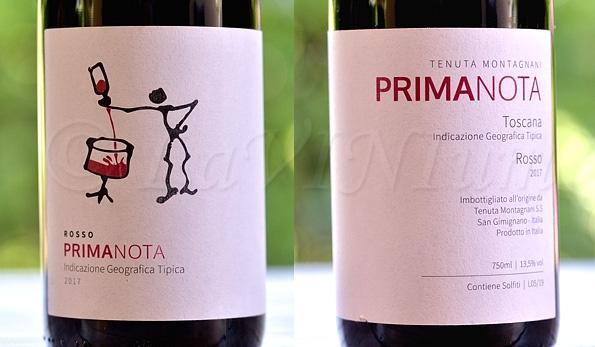 Rosso Primanota 2017 Tenuta Montagnani